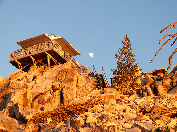 Butler Peak Fire Lookout