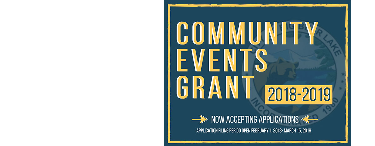 Fiscal Year 2018-2019 Community Events Grant Program